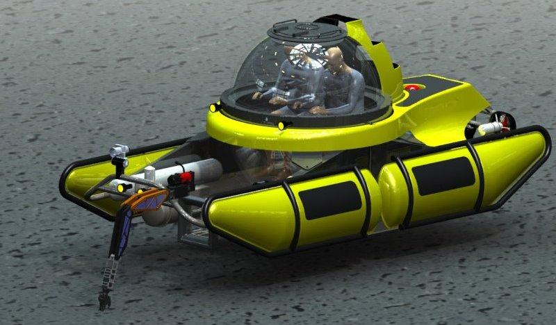 как управляют подводной лодкой под водой